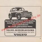 Volvo PV 544 reclam / advertising / Werbung Juli 1981