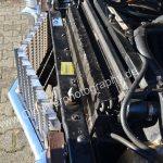 "1970 Cadillac DeVille Convertible Detailansicht auf Kühlergrill (""eggcrate"" grille)"