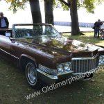 1970 Cadillac DeVille Convertible im offenen Zustand