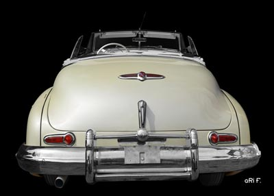 1947 Buick Super Convertible in original color open
