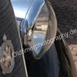 Hotchkiss 686 Cabourg mit Scheinwerfer von Marchal und Logo auf Kühlergrill