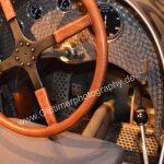 Mercedes-Benz W 25 Silberpfeil rechts unten der Ganghebel in einer Kulissenschaltung