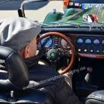 Morgan Plus 8 in racing green