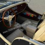 Morgan Plus 8 Interieur in hellem Büffelleder
