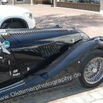 Morgan Plus 8 in black color Serie ab 2012