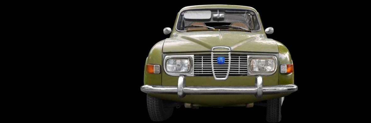 Saab 96 Poster