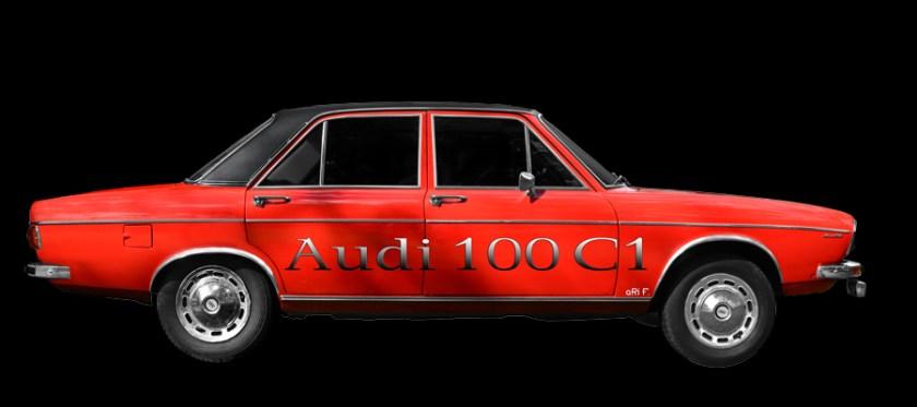 Audi 100 C1 Poster (1968–1977)
