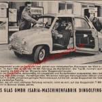 Goggomobil Werbung von 1956
