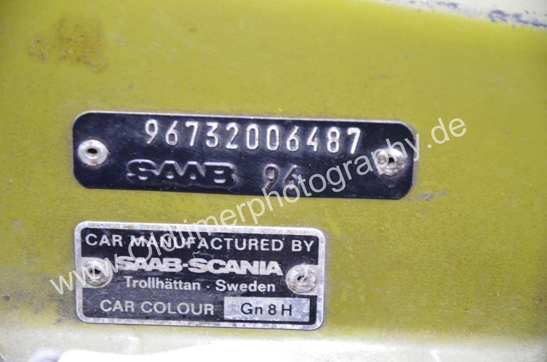 Saab Car Colour GN8 = Veronagrön / Verona green