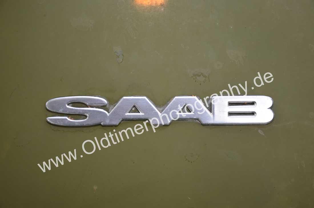 Saab Logo am Heck