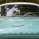 Wartburg 312 Blick auf Motorhaube mit WARTBURG in Großbuchstaben