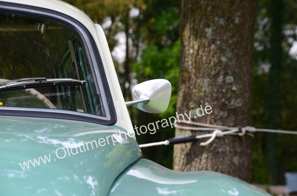Wartburg 312 Frontdetail Aussenspiegel
