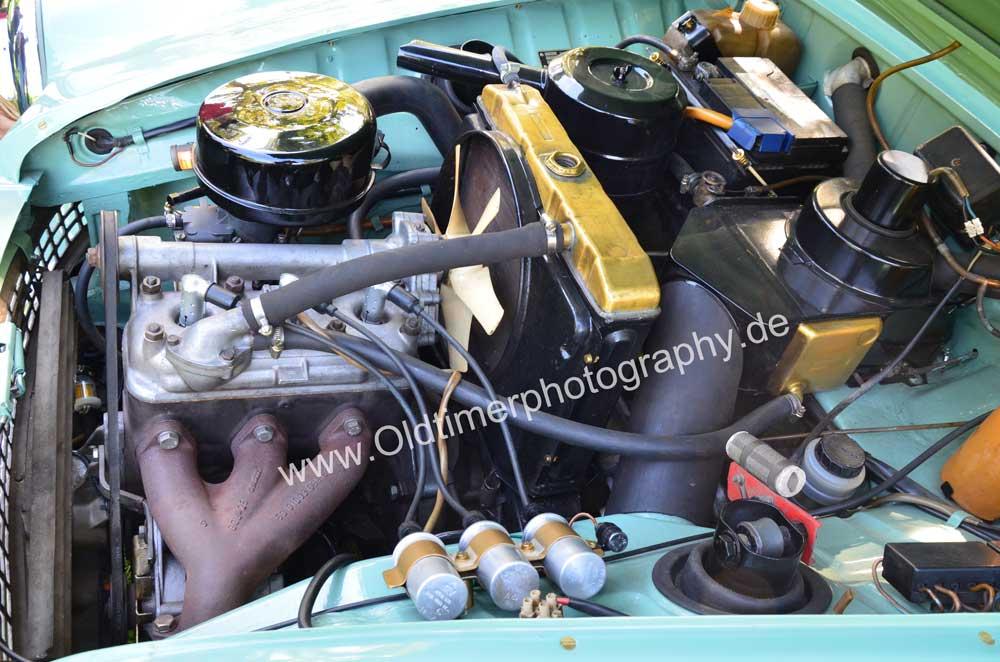 Wartburg 312 mit 1,0 Liter Motor und 50 PS unter der Motorhaube