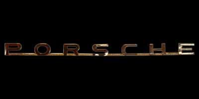 Logo Porsche auf 550 Spyder