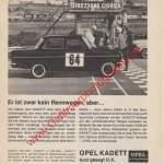 Opel Kadett A Werbung Advertising 60er Jahre in hobby