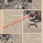 olizei Porsche 356 A - Bericht aus Zeitung hobby von 1959 Seite 54