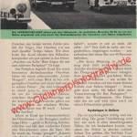 Polizei Porsche 356 A - Bericht aus Zeitung hobby von 1959 Seite 56