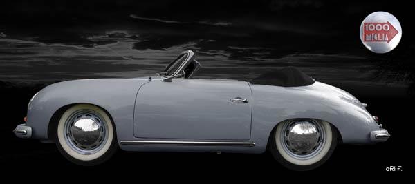 Porsche 356 A 1500 Super (Originalfarbe) side view