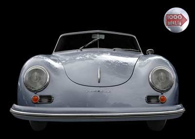 Porsche 356 A 1500 Super to the Mille Miglia