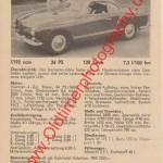 VW Karmann-Ghia Coupé 1200 technische Daten