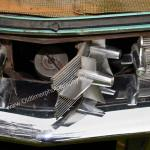 1959 Cadillac Serie 62 Öffnung für den Tankstutzen
