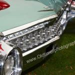1959 Cadillac Serie 62 Stoßfänger hinten Detailaufnahme