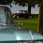 1959 Cadillac Serie 62 mit kleinen Fins auch auf der Motorhaube