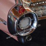 1959 Cadillac Sixty Special Rücklicht in 5 Segemente für Brems- und Rückfahrlichter aufgeteilt