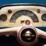 Opel Olympia Rekord mit weißem Bakelit-Lenkrad
