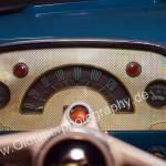 Opel Olympia Rekord mit halbrundem Tachometer und 2 Rundistrumente