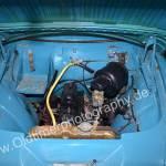Opel Olympia Rekord Caravan Motorraum mit 45 PS-Motor