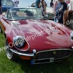 Jaguar E-Type Series III Roadster oben ohne!