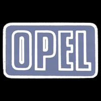 Logo Opel Corsa A auf Lenkrad