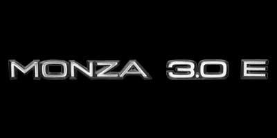 Logo Opel MONZA 3.0 E