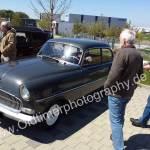 Opel Olympia Rekord Limousine bei einem Oldtimertreffen