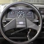 Opel Corsa A Interieur mit 2-Speichenlenkrad
