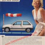 Opel Corsa A Original-Werbung in Auto Motor & Sport von 12-1983