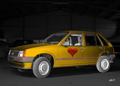 Opel Corsa Valentine