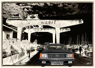 Opel Monza Vintage Art