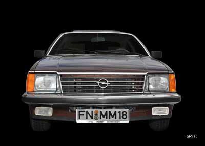 Opel Monza in front (Originalfarbe)
