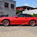 Chevrolet Camaro RS Cabriolet von 1989 side view