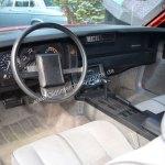 Chevrolet Camaro RS Interieur und Stoffsitzen