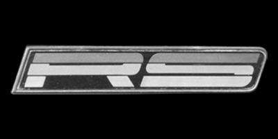 Logo Camaro RS 1989-1990