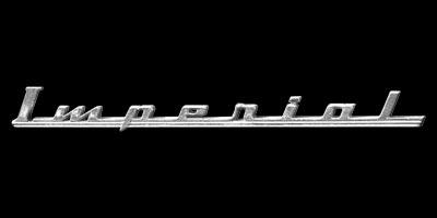Logo Chrysler Imperial Serie C54 (1951-1952)