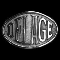 Logo Delage D 6.60 von 1937