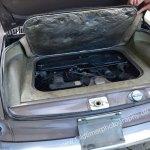 VW 1500 4-Zylinder Boxermotor mit 1493 ccm und 45 PS unter der Abdeckung im Heck