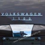 VW 1500 S Ausstattung gut sichtbar am Heck