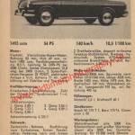VW 1500 S technische Daten von 1963