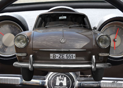 VW 1500 Typ 3 mit Interieur in Originalfarbe