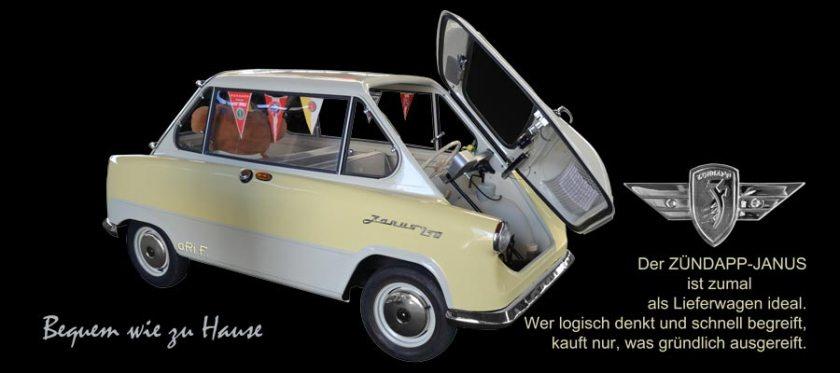 Zündapp Janus 250 kaufen